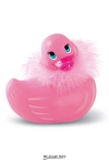 I rub my Duckie Paris - rose : La star des canards vibrants en version